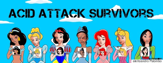 acid attack princesses