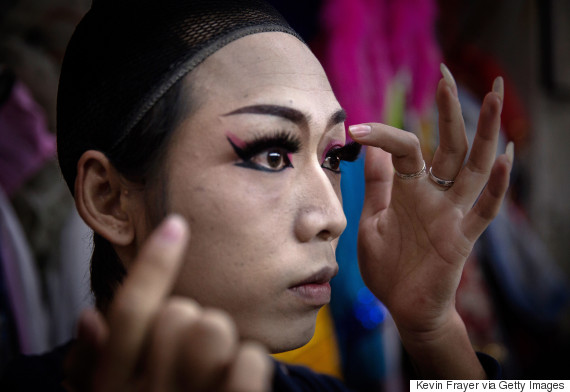 chinese drag queen