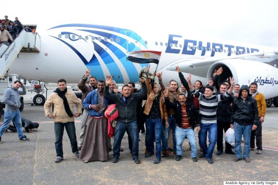 egyptians return