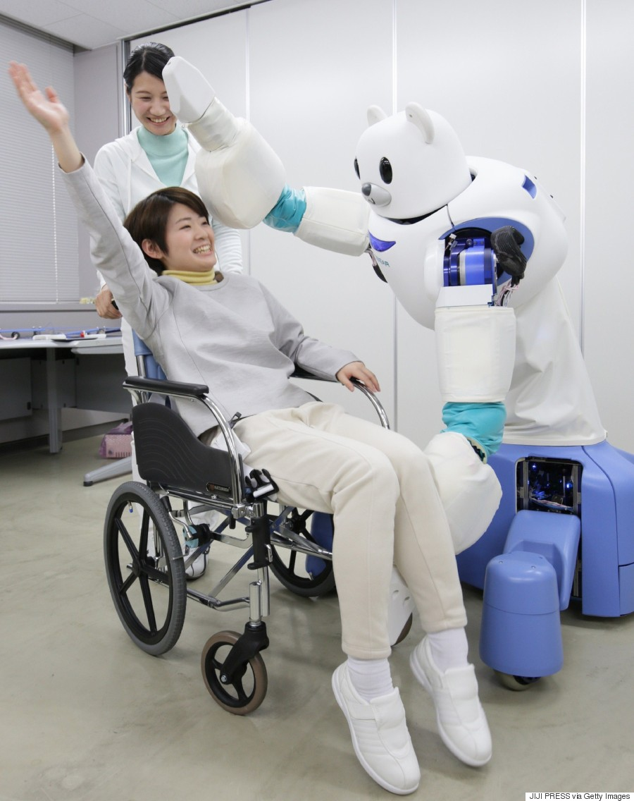 Why Robots Are The Future Of Elder Care Good
