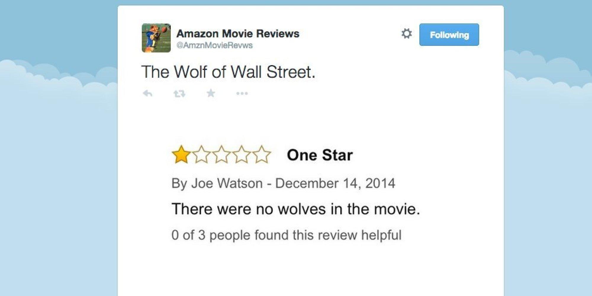 Movie critiques