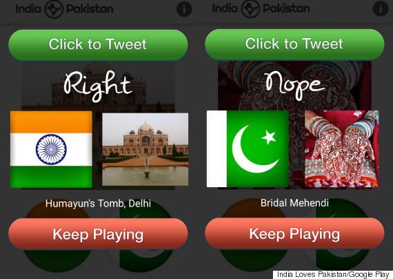 india or pakistan app