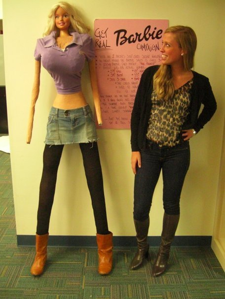 Some people have skeletons in their closet. I have an enormous Barbie