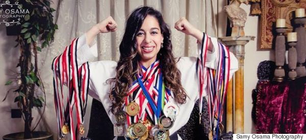 Egyptian Taekwondo Champion Kicks Ass And Beats Cultural Stereotypes