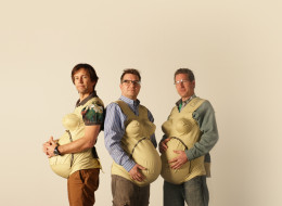 This Is What Happens When 3 Dads Decide To Find Out What Pregnancy Is Really Like