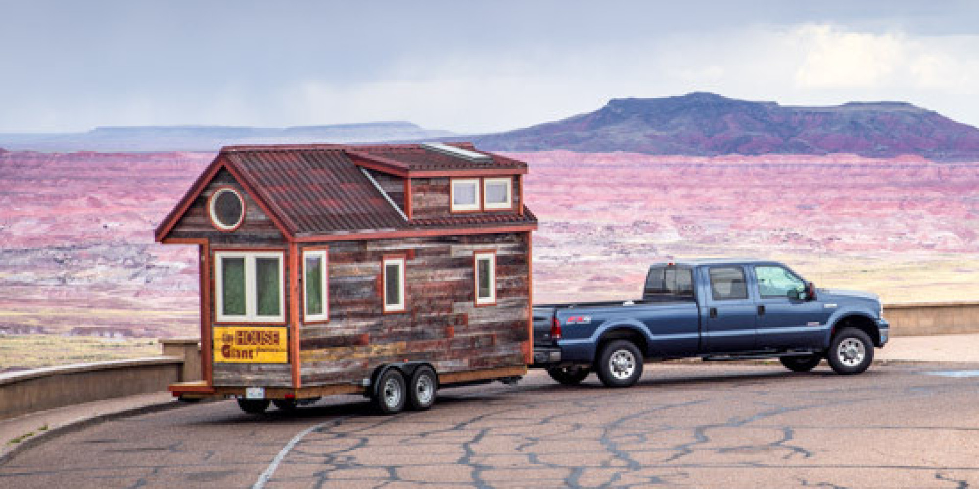 Surprising Couple Quits Day Jobs Builds Quaint Tiny Home On Wheels To Largest Home Design Picture Inspirations Pitcheantrous