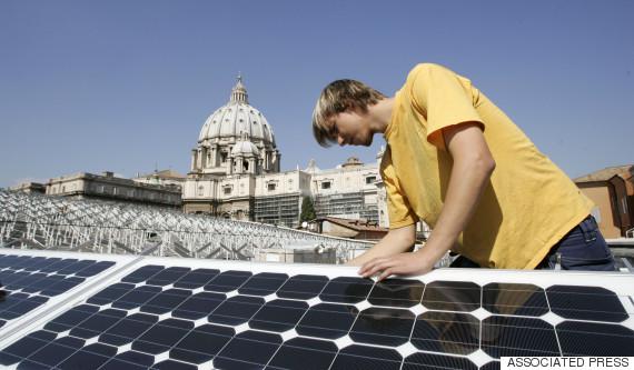 vatican solar