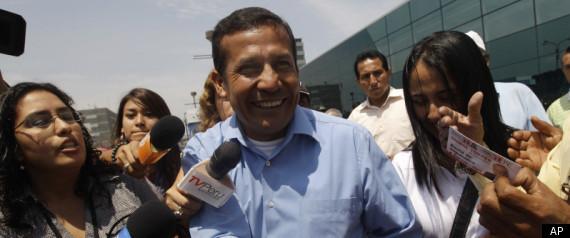 PERU PRESIDENTIAL ELECTIONS