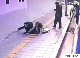 Watch A Sinkhole In South Korea Instantly Swallow Two People