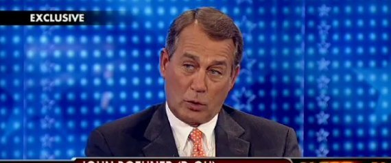 JOHN BOEHNER INTERVIEW