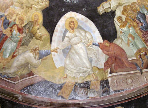 An Eastern depiction of the Resurrection