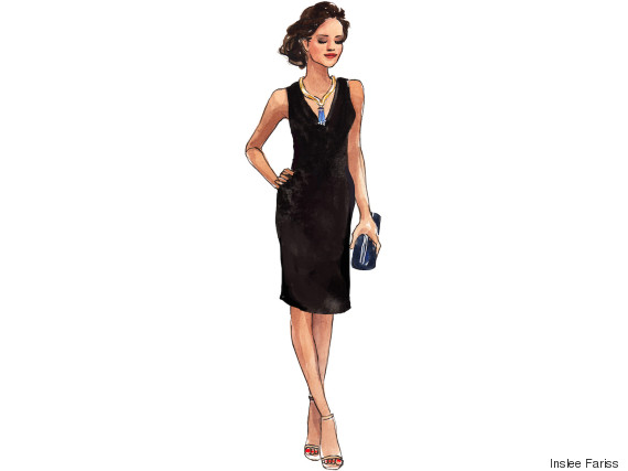 dd9f408f61e This Black Tie Dress Will Take You From The Boardroom To The ...
