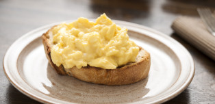 The Mistake You're Almost Definitely Making With Scrambled Eggs