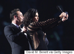Kim K Has A Rare Selfie Fail At The Brits