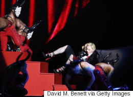 Madonna Proves She's 'Gonna Carry On' After Brits Tumble