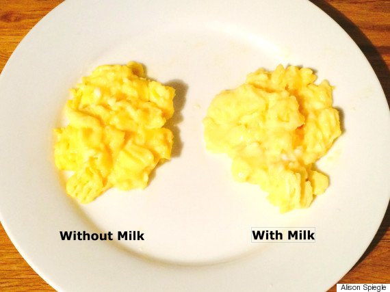 Why Adding Milk To Your Scrambled Eggs Is A Mistake | The Huffington ...