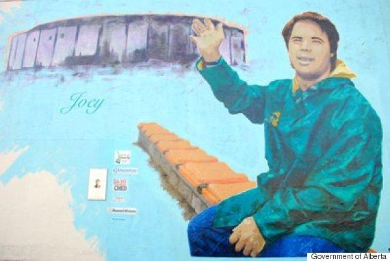joey moss mural