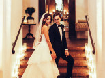 LOOK: Actors Amber Stevens And Andrew J. West's Cozy Winter Wedding