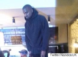 Kanye West Enjoys Pre-Brits Nando's Because He's Just Like Us Really