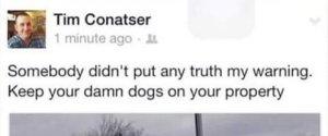 TIM CONATSER