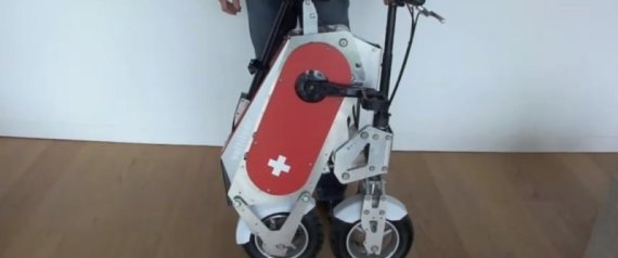 THE VOLTITUDE SWISS ARMY BIKE