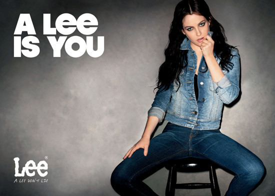 Riley keough elvis presley s granddaughter poses for lee campaign