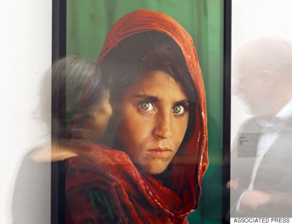 afghan girl national geographic