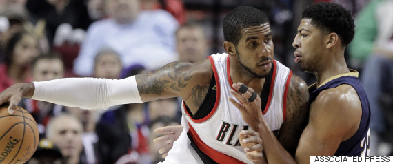 anthony davis lamarcus aldridge