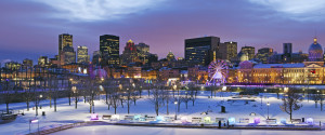 MONTREAL NIGHT WINTER