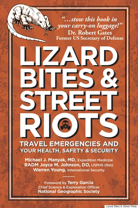 lizard bites and street riots