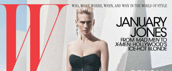 JANUARY JONES COVER