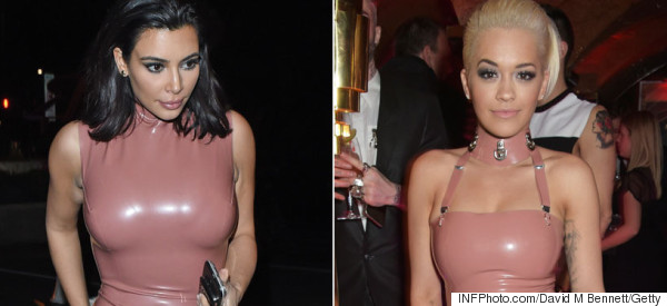 Oh Dear, Rita And Kim Attend Party In Matching Outfits