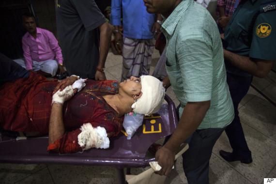 avijit roy injured wife