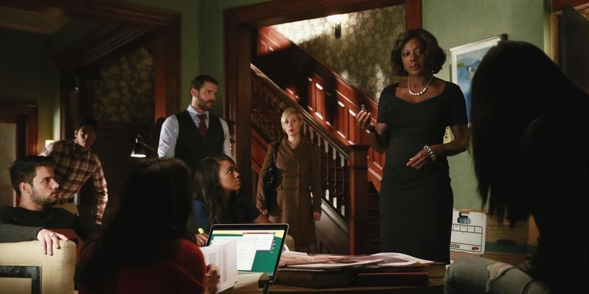 5 Big Reveals From 'how To Get Away With Murder' Season 1 Finale  Huffpost