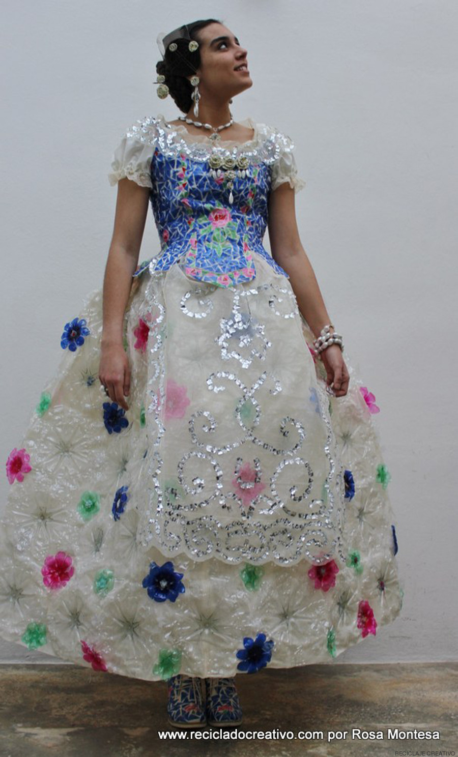 This Recycled Dress Is Made Of 180 Plastic Bottles (PHOTOS) | HuffPost