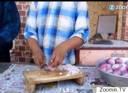 This Man Chops Onions With Alarming Speed, Accuracy And Lack Of Tears