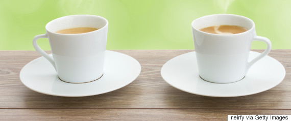 Coffee Cups With Coffee