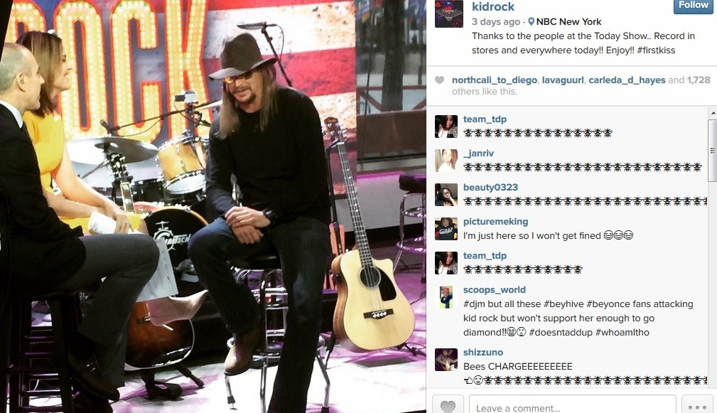kid rock instagram