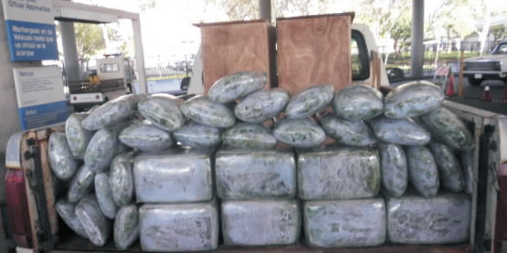 15 Tons Of Marijuana Seized At  1 Ton Of Weed