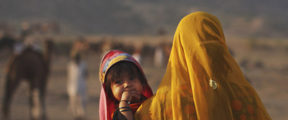 women and children rajasthan