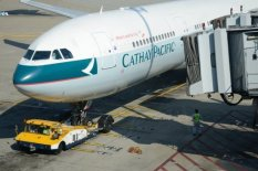 A Cathay Pacific plane | Pic: Shutterstock