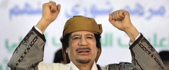 GADDAFI NATO LIBYA