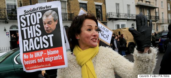 Anti-Ukip Protesters Clash With Far-Right At Party Conference