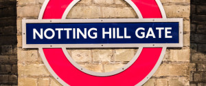 NOTTING HILL SIGN