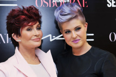 Sharon and Kelly Osbourne | Pic: PA