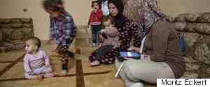 FLCHTLINGE AUS SYRIEN