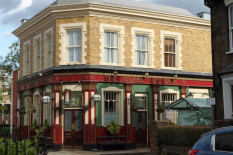 The Queen Victoria pub in EastEnders | Pic: BBC