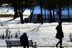Stock image of a wintry day | Pic: Getty