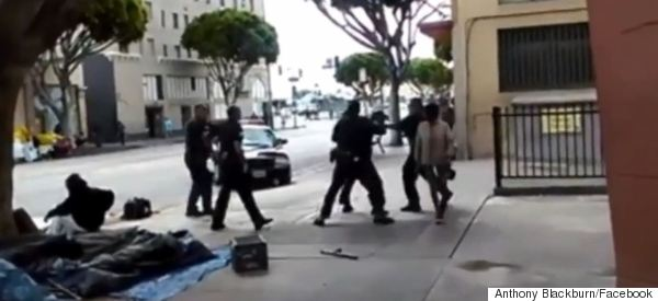 Shocking Footage Shows Police Fatally Shooting Mentally Ill Homeless Man