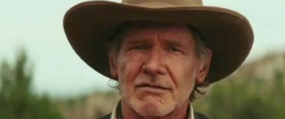 HARRISON FORD COWBOYS AND ALIENS